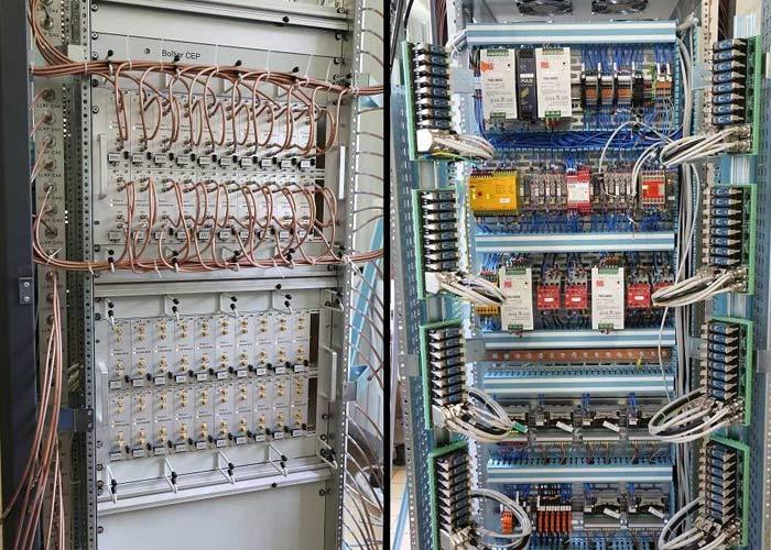 Cablage armoire électrique, rack, coffret et baie d'instrumentation EEGI