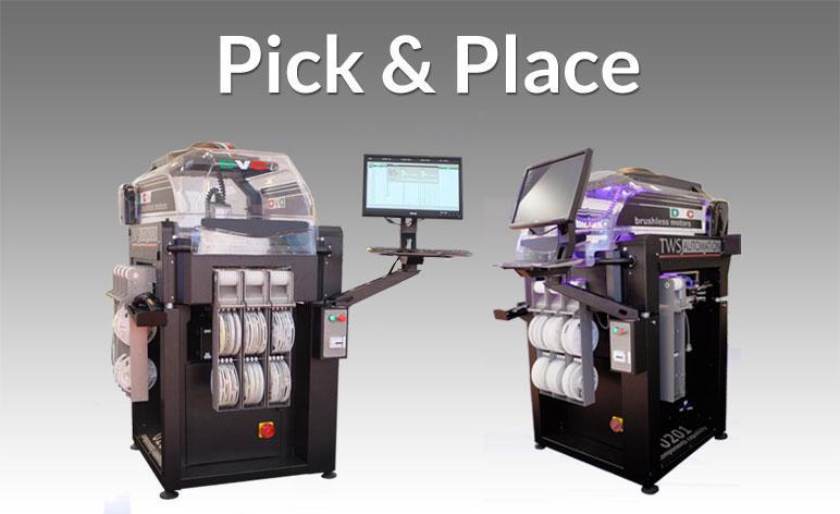 Machine de pose automatique de composants CMS