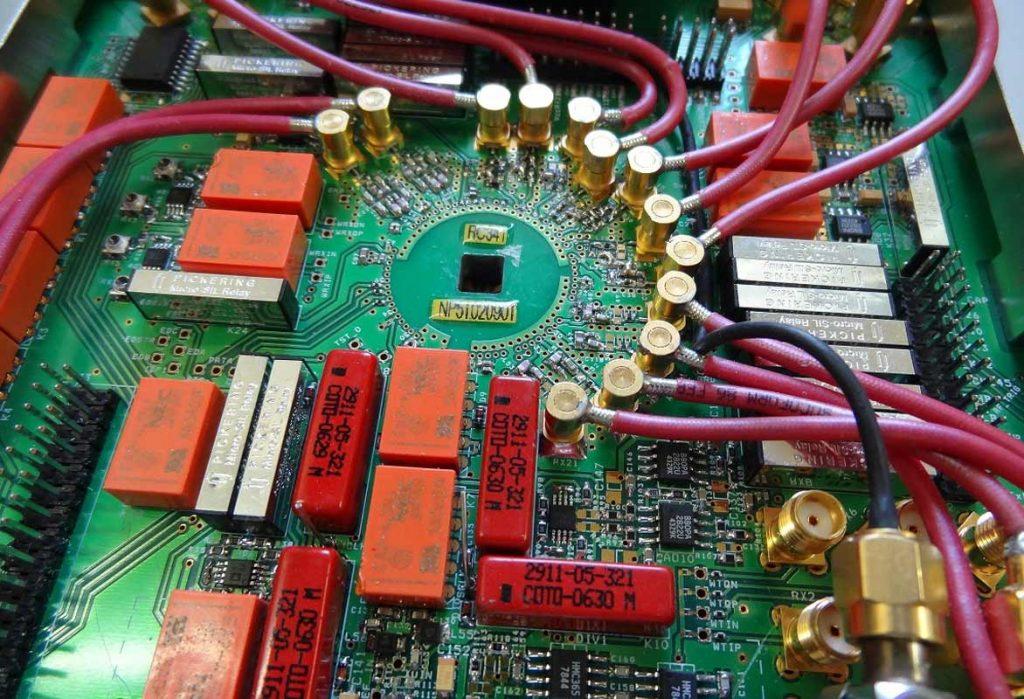 Cablage Assemblage cartes électroniques traversants CMS et filaires EEGI