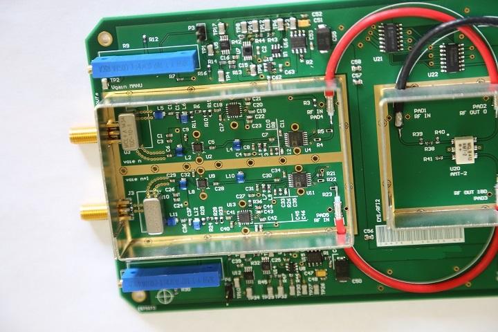 Cablage carte électronique RF EEGI